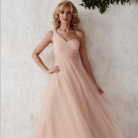 73801bef89a3 christina wu Dresses | Blush Pink Bridesmaid | Poshmark